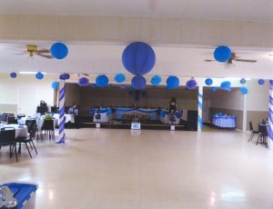 Hall Decor - Blue1